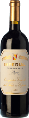32,95 € Envoi gratuit | Vin rouge Norte de España - CVNE Cune Imperial Reserva D.O.Ca. Rioja La Rioja Espagne Tempranillo, Graciano, Mazuelo Bouteille 75 cl