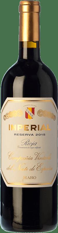 26,95 € Free Shipping | Red wine Norte de España - CVNE Cune Imperial Reserva D.O.Ca. Rioja The Rioja Spain Tempranillo, Graciano, Mazuelo Bottle 75 cl