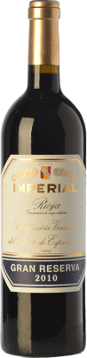 54,95 € Free Shipping | Red wine Norte de España - CVNE Cune Imperial Gran Reserva 2011 D.O.Ca. Rioja The Rioja Spain Tempranillo, Graciano, Mazuelo Bottle 75 cl