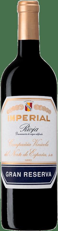48,95 € Free Shipping | Red wine Norte de España - CVNE Cune Imperial Gran Reserva D.O.Ca. Rioja The Rioja Spain Tempranillo, Graciano, Mazuelo Bottle 75 cl