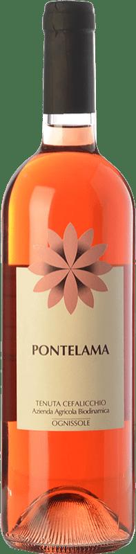 12,95 € Envío gratis | Vino rosado Ognissole Pontelama D.O.C. Castel del Monte Puglia Italia Nero di Troia Botella 75 cl