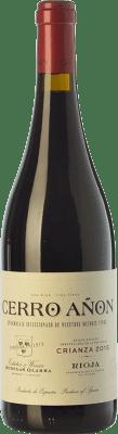 9,95 € Kostenloser Versand | Rotwein Olarra Cerro Añón Crianza D.O.Ca. Rioja La Rioja Spanien Tempranillo, Grenache, Graciano, Mazuelo Flasche 75 cl