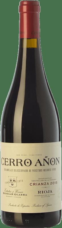 9,95 € Envoi gratuit   Vin rouge Olarra Cerro Añón Crianza D.O.Ca. Rioja La Rioja Espagne Tempranillo, Grenache, Graciano, Mazuelo Bouteille 75 cl