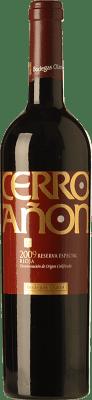 13,95 € Kostenloser Versand | Rotwein Olarra Cerro Añón Especial Reserva D.O.Ca. Rioja La Rioja Spanien Tempranillo, Grenache, Graciano, Mazuelo Flasche 75 cl