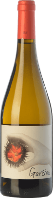 8,95 € Free Shipping | White wine Oliveda Garoina D.O. Empordà Catalonia Spain Chardonnay Bottle 75 cl
