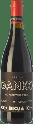 37,95 € Envío gratis | Vino tinto Olivier Rivière Ganko Crianza D.O.Ca. Rioja La Rioja España Garnacha, Mazuelo Botella 75 cl