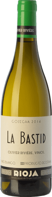 25,95 € Free Shipping | White wine Olivier Rivière La Bastid Crianza D.O.Ca. Rioja The Rioja Spain Viura, Grenache White Bottle 75 cl