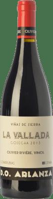 11,95 € Envío gratis | Vino tinto Olivier Rivière La Vallada Crianza D.O. Arlanza Castilla y León España Tempranillo, Garnacha Botella 75 cl
