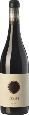 18,95 € Free Shipping | Red wine Orben Crianza D.O.Ca. Rioja The Rioja Spain Tempranillo, Graciano Bottle 75 cl | Thousands of wine lovers trust us to get the best price guarantee, free shipping always and hassle-free shopping and returns.