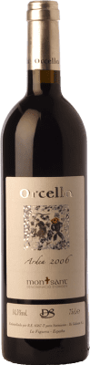13,95 € Free Shipping | Red wine Orcella Ardea Crianza D.O. Montsant Catalonia Spain Merlot, Syrah, Grenache Bottle 75 cl