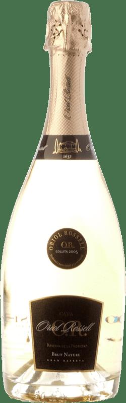 25,95 € Envío gratis | Espumoso blanco Oriol Rossell Reserva de la Propietat Brut Nature Reserva D.O. Cava Cataluña España Macabeo, Xarel·lo, Parellada Botella 75 cl