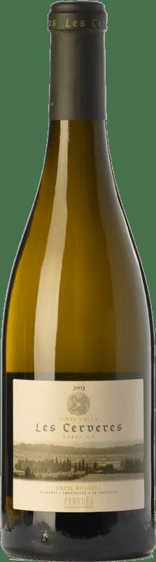 19,95 € Envoi gratuit | Vin blanc Oriol Rossell Les Cerveres Crianza D.O. Penedès Catalogne Espagne Xarel·lo Bouteille 75 cl