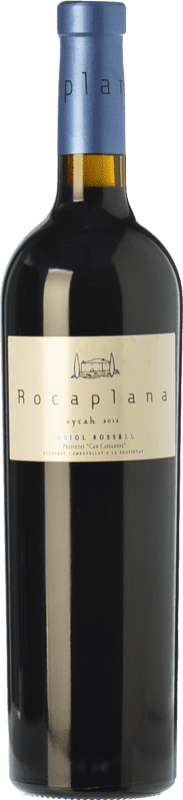 13,95 € Free Shipping | Red wine Oriol Rossell Rocaplana Joven D.O. Penedès Catalonia Spain Syrah Bottle 75 cl