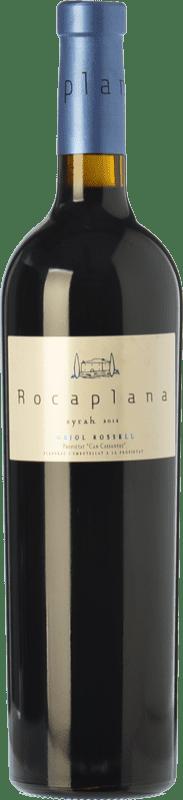 13,95 € Envío gratis | Vino tinto Oriol Rossell Rocaplana Joven D.O. Penedès Cataluña España Syrah Botella 75 cl