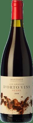 9,95 € Free Shipping | Red wine Orto Les Argiles Negre Joven D.O. Montsant Catalonia Spain Grenache, Carignan Bottle 75 cl