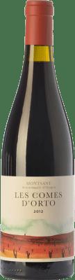 24,95 € Free Shipping | Red wine Orto Les Comes Crianza D.O. Montsant Catalonia Spain Tempranillo, Grenache, Samsó Bottle 75 cl