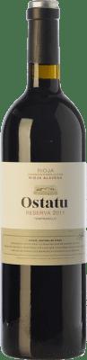 19,95 € Envío gratis | Vino tinto Ostatu Reserva D.O.Ca. Rioja La Rioja España Tempranillo Botella 75 cl