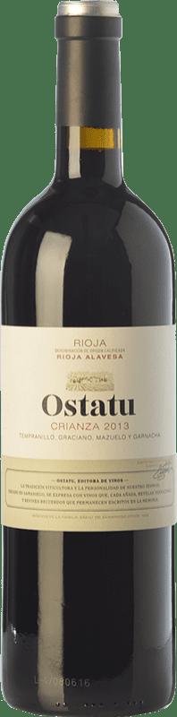 19,95 € Kostenloser Versand   Rotwein Ostatu Crianza D.O.Ca. Rioja La Rioja Spanien Tempranillo Magnum-Flasche 1,5 L