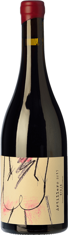 38,95 € Envoi gratuit | Vin rouge Oxer Bastegieta Artillero Crianza D.O.Ca. Rioja La Rioja Espagne Tempranillo Bouteille 75 cl