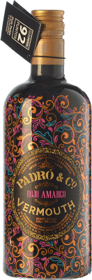 19,95 € Free Shipping | Vermouth Padró Rojo Amargo Catalonia Spain Bottle 70 cl