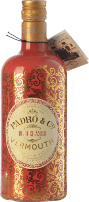 9,95 € Kostenloser Versand | Wermut Padró Rojo Clásico Katalonien Spanien Flasche 70 cl