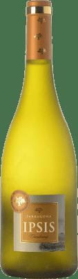 8,95 € Kostenloser Versand | Weißwein Padró Ipsis D.O. Tarragona Katalonien Spanien Chardonnay Flasche 75 cl