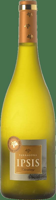 7,95 € Free Shipping | White wine Padró Ipsis D.O. Tarragona Catalonia Spain Chardonnay Bottle 75 cl
