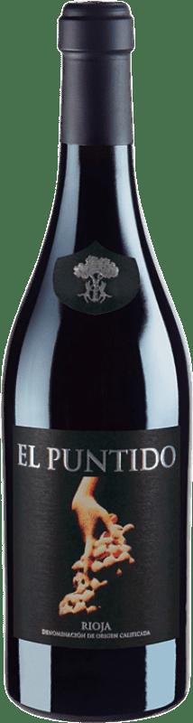 22,95 € Free Shipping | Red wine Páganos El Puntido 2015 D.O.Ca. Rioja The Rioja Spain Tempranillo Bottle 75 cl