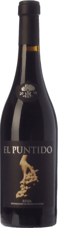 33,95 € Free Shipping | Red wine Páganos El Puntido Crianza D.O.Ca. Rioja The Rioja Spain Tempranillo Jéroboam Bottle-Double Magnum 3 L
