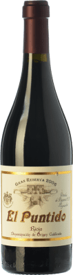 55,95 € Free Shipping | Red wine Páganos El Puntido Gran Reserva 2006 D.O.Ca. Rioja The Rioja Spain Tempranillo Bottle 75 cl