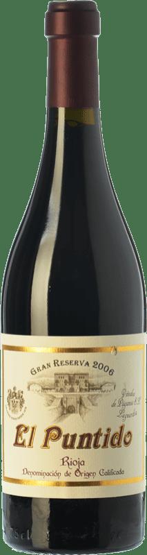 54,95 € Free Shipping | Red wine Páganos El Puntido Gran Reserva 2007 D.O.Ca. Rioja The Rioja Spain Tempranillo Bottle 75 cl