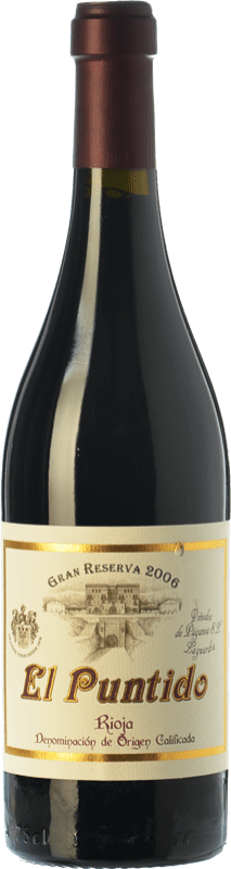 54,95 € Envío gratis | Vino tinto Páganos El Puntido Gran Reserva 2007 D.O.Ca. Rioja La Rioja España Tempranillo Botella 75 cl