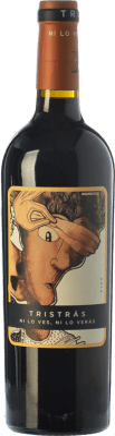 5,95 € Kostenloser Versand | Rotwein Casa del Blanco Tristrás Joven I.G.P. Vino de la Tierra de Castilla Kastilien-La Mancha Spanien Syrah Flasche 75 cl