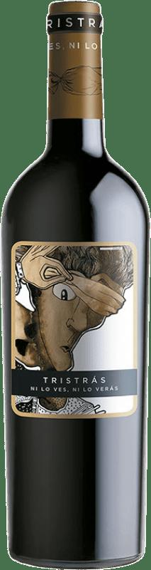 5,95 € Envoi gratuit | Vin rouge Casa del Blanco Tristrás Joven I.G.P. Vino de la Tierra de Castilla Castilla La Mancha Espagne Syrah Bouteille 75 cl
