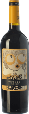 5,95 € Free Shipping | Red wine Casa del Blanco Veoveo Joven I.G.P. Vino de la Tierra de Castilla Castilla la Mancha Spain Tempranillo Bottle 75 cl
