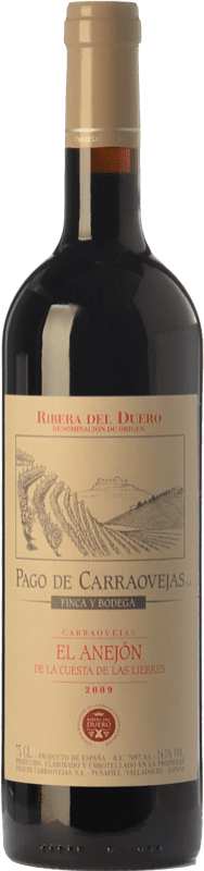 77,95 € 送料無料 | 赤ワイン Pago de Carraovejas El Anejón Crianza 2009 D.O. Ribera del Duero カスティーリャ・イ・レオン スペイン Tempranillo, Merlot, Cabernet Sauvignon ボトル 75 cl