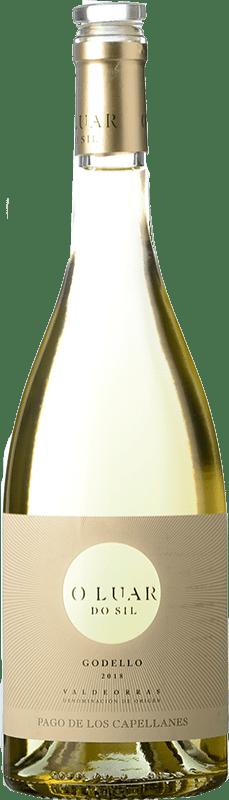 11,95 € Free Shipping | White wine Pago de los Capellanes O Luar Do Sil D.O. Valdeorras Galicia Spain Godello Bottle 75 cl