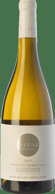19,95 € Free Shipping | White wine Pago de los Capellanes O Luar Do Sil D.O. Valdeorras Galicia Spain Godello Bottle 75 cl