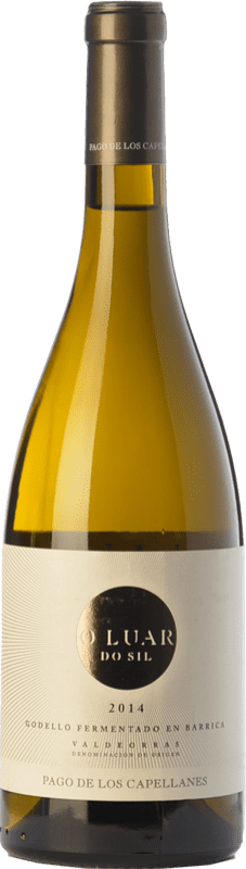 27,95 € Free Shipping | White wine Pago de los Capellanes O Luar Do Sil Fermentado en Barrica Crianza D.O. Valdeorras Galicia Spain Godello Bottle 75 cl