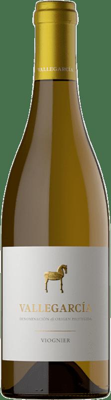 25,95 € Free Shipping | White wine Pago de Vallegarcía Crianza I.G.P. Vino de la Tierra de Castilla Castilla la Mancha Spain Viognier Bottle 75 cl