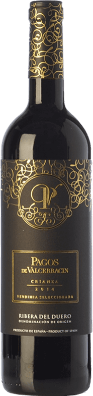 14,95 € Envoi gratuit   Vin rouge Pagos de Valcerracín Crianza D.O. Ribera del Duero Castille et Leon Espagne Tempranillo Bouteille 75 cl