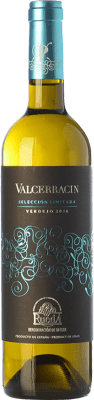 9,95 € Envío gratis | Vino blanco Pagos de Valcerracín D.O. Rueda Castilla y León España Verdejo Botella 75 cl