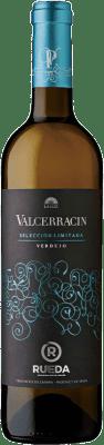 9,95 € Kostenloser Versand | Weißwein Pagos de Valcerracín D.O. Rueda Kastilien und León Spanien Verdejo Flasche 75 cl