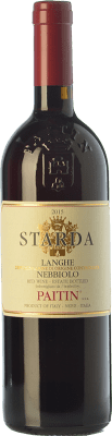 16,95 € Free Shipping | Red wine Paitin Starda D.O.C. Langhe Piemonte Italy Nebbiolo Bottle 75 cl