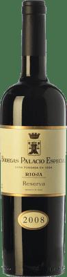 37,95 € Kostenloser Versand | Rotwein Palacio Especial Reserva D.O.Ca. Rioja La Rioja Spanien Tempranillo Flasche 75 cl