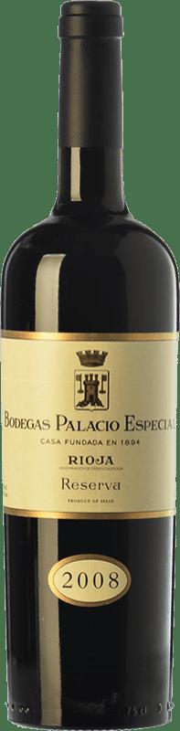37,95 € Envoi gratuit | Vin rouge Palacio Especial Reserva D.O.Ca. Rioja La Rioja Espagne Tempranillo Bouteille 75 cl