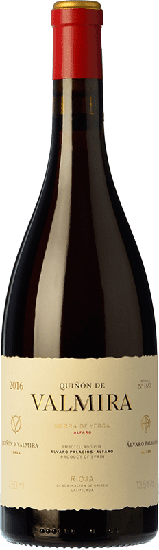 397,95 € Free Shipping | Red wine Palacios Remondo Quiñón de Valmira Crianza D.O.Ca. Rioja The Rioja Spain Grenache Bottle 75 cl