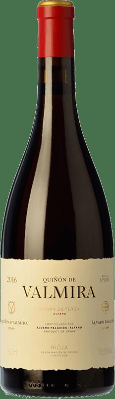 397,95 € Envío gratis | Vino tinto Palacios Remondo Quiñón de Valmira Crianza D.O.Ca. Rioja La Rioja España Garnacha Botella 75 cl