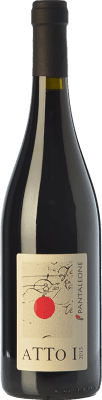 16,95 € Free Shipping | Red wine Pantaleone Atto I I.G.T. Marche Marche Italy Sangiovese Bottle 75 cl