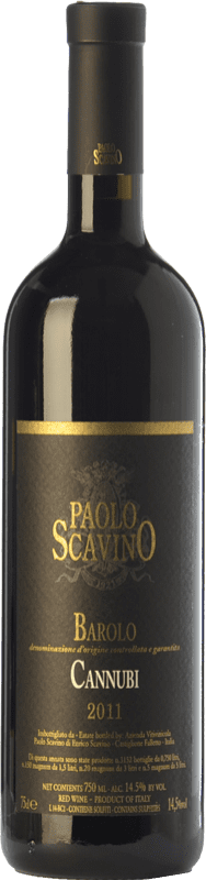 115,95 € Free Shipping | Red wine Paolo Scavino Cannubi D.O.C.G. Barolo Piemonte Italy Nebbiolo Bottle 75 cl